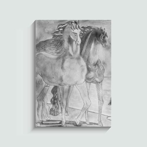 Τα Άλογα του Giorgio De Chirico